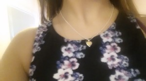 GIFT: This beautiful necklace was given away at the end of the launch.
