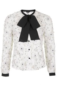 Lace bow blouse by Sister Jane at Topshop, £52