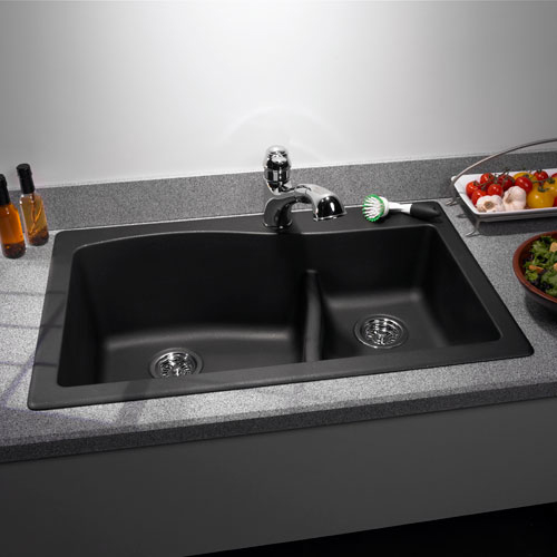 swanstone single bowl kitchen sink black table styleture » notable designs + functional living spacesbold ...
