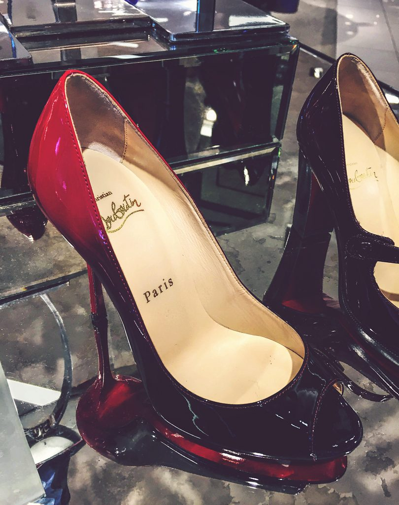 Christian Louboutin gradient pumps