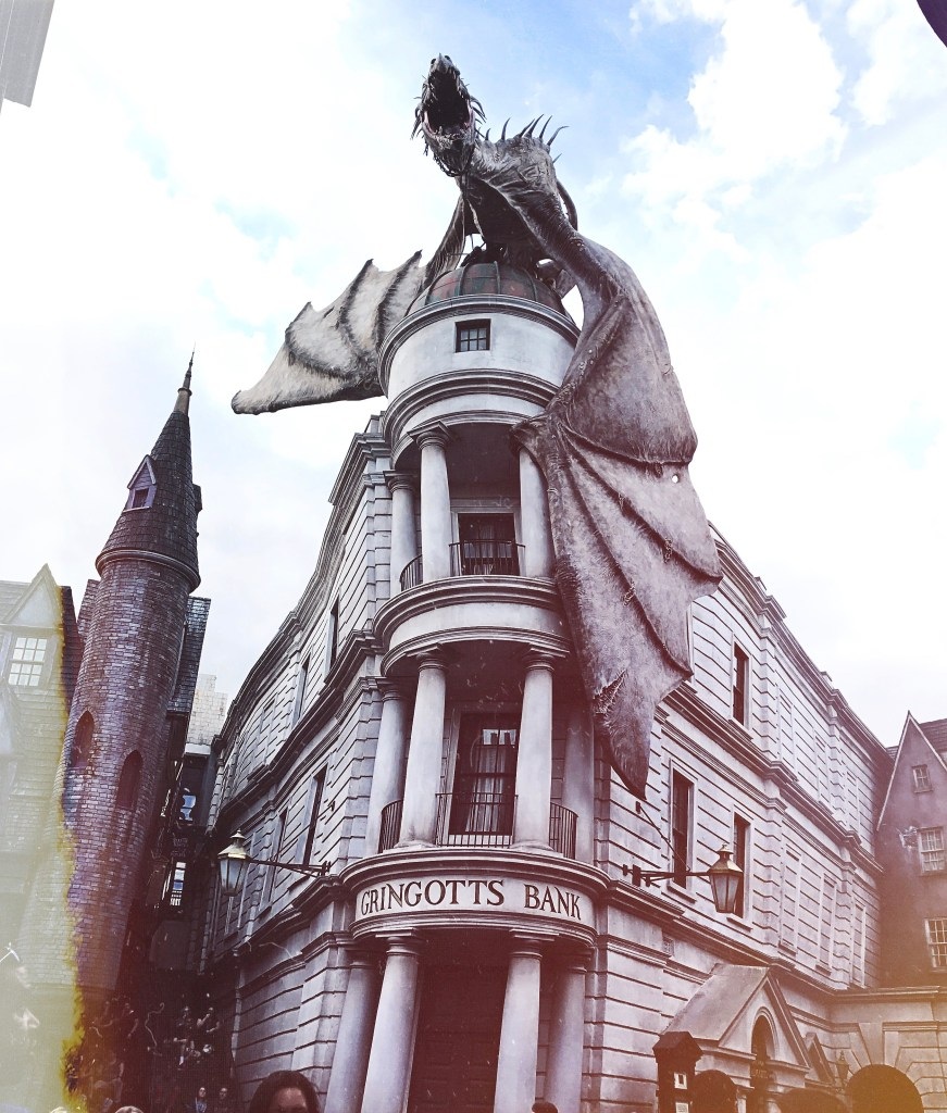 Gringotts Bank The World of Harry Potter at Universal Studios Orlando