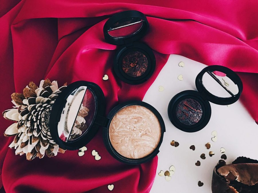 Laura Geller Balance-N-Brighten and Eye Rimz Baked Eyeshadows