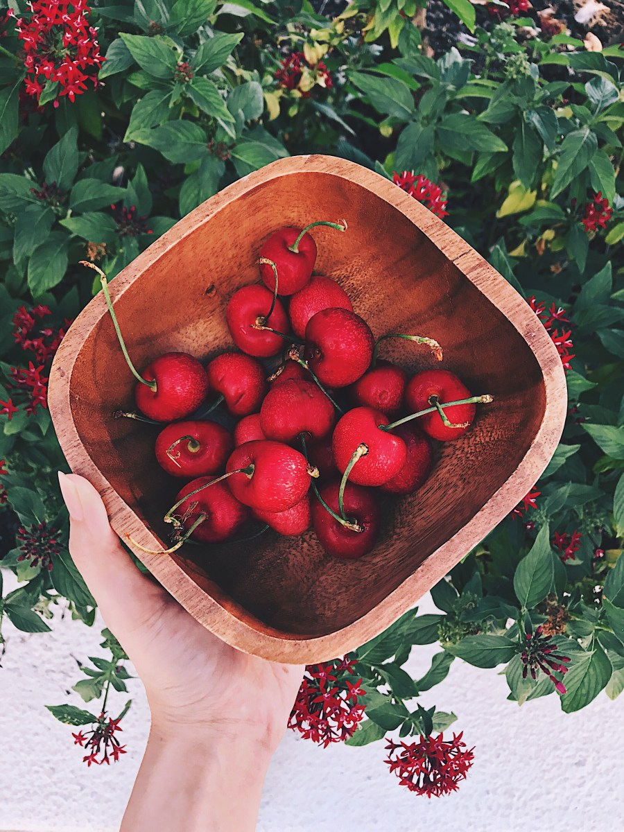 A bowl of cherries for summer