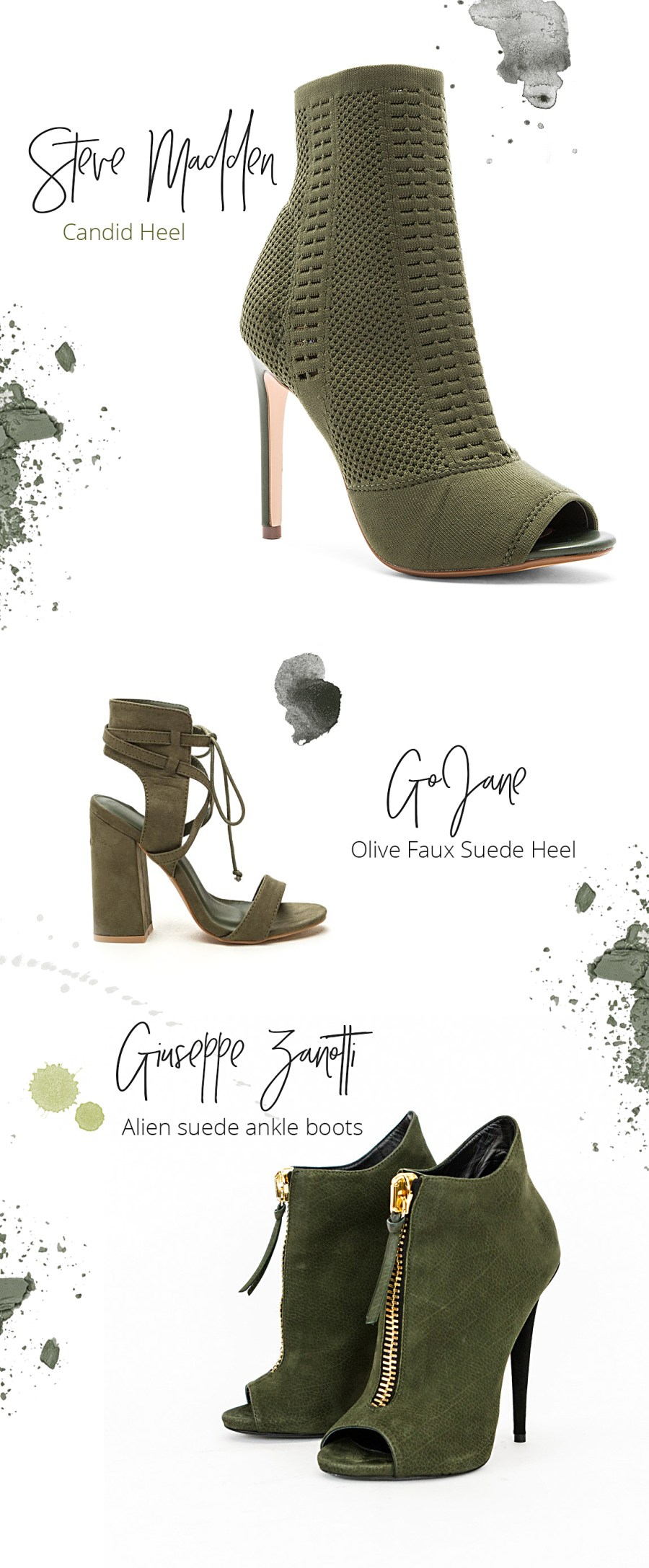 olive shoes heels Style Unsettled fall edit