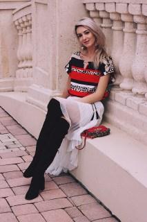 Cinderella Moment Calvin Klein Blouse Asos Pleated Skirt Zara Boots DKNY bag