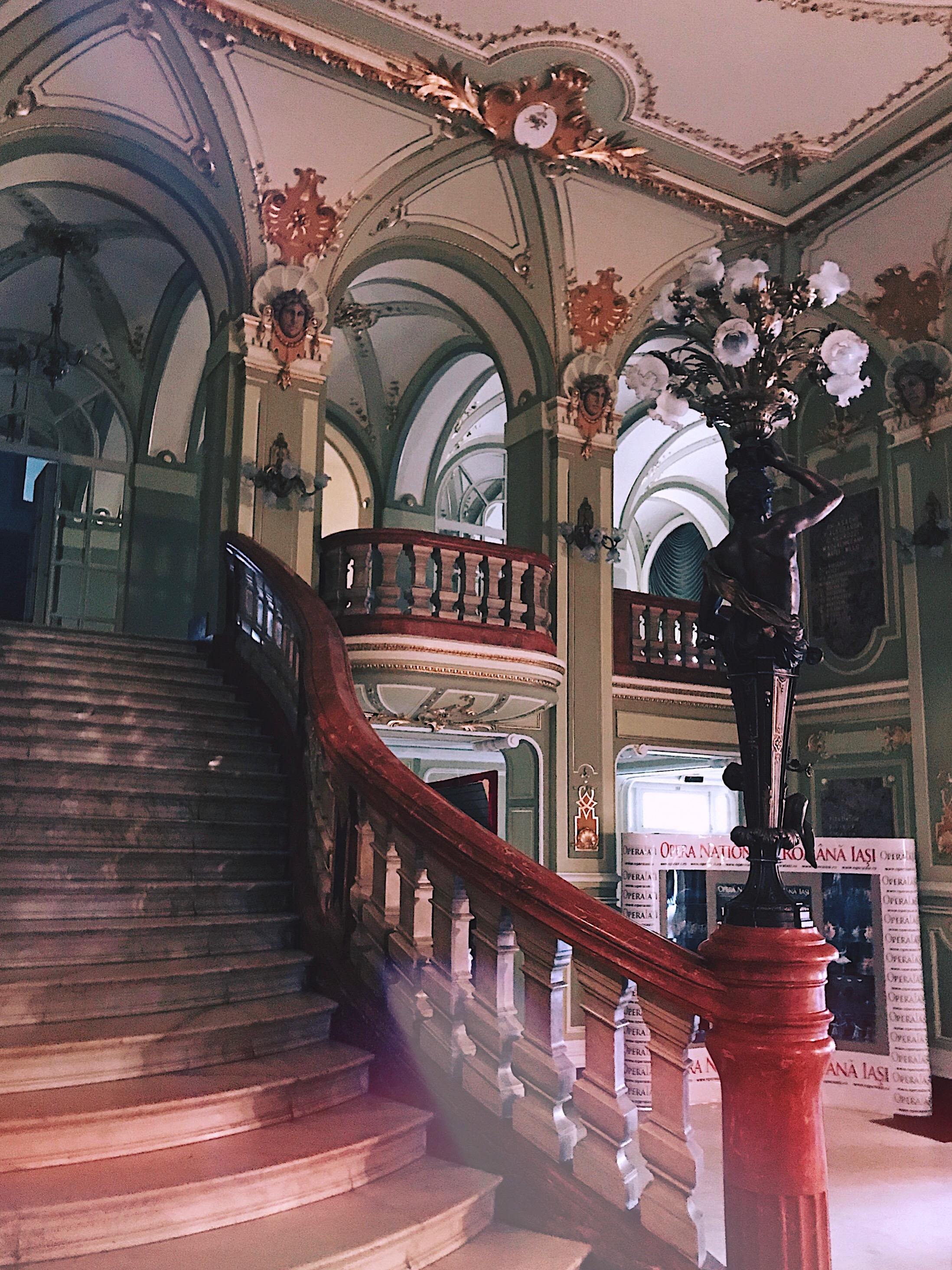 National Opera Iasi Romania Style Unsettled