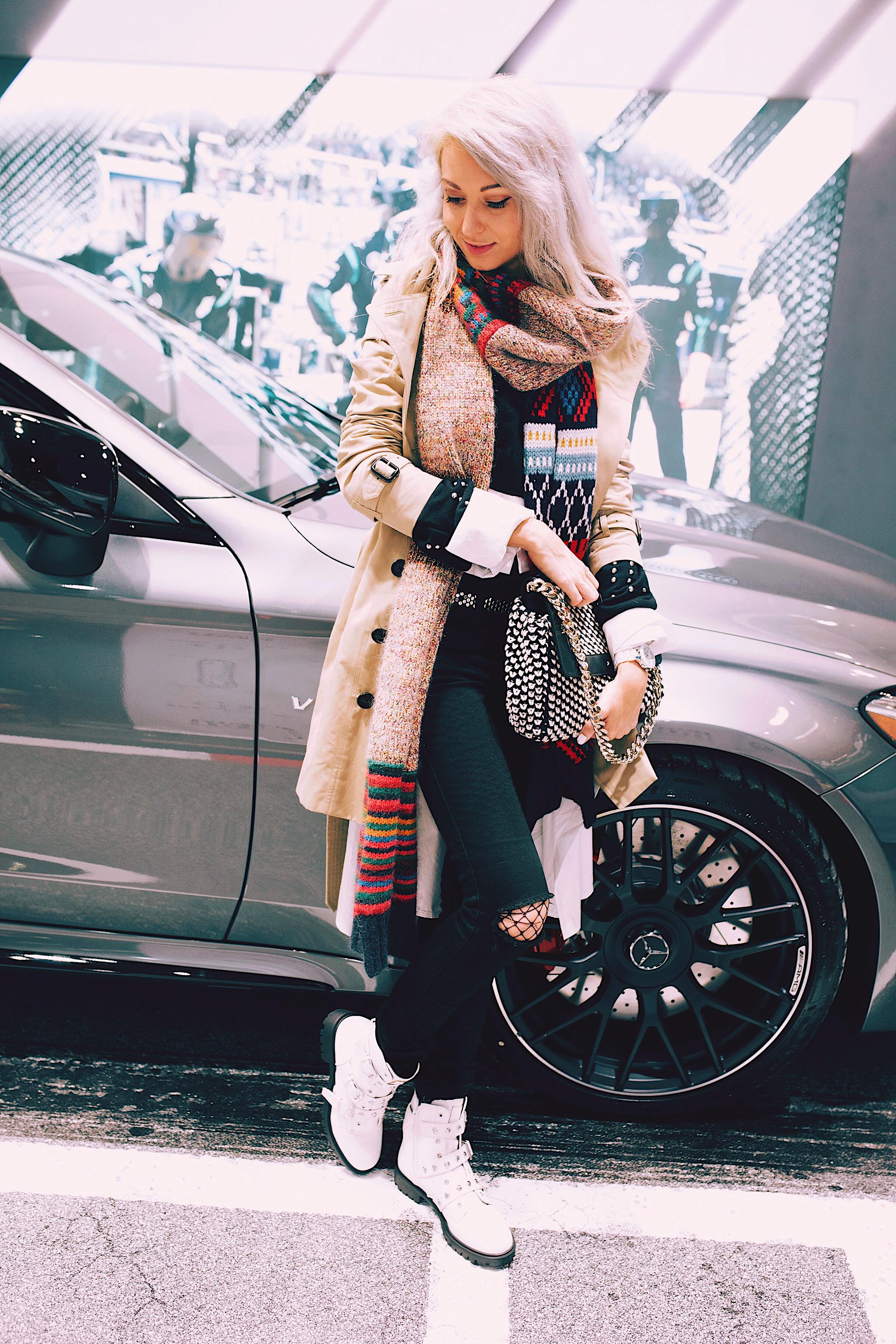 NYFW FW18 Style Unsettled Mercedes Benz Manhattan