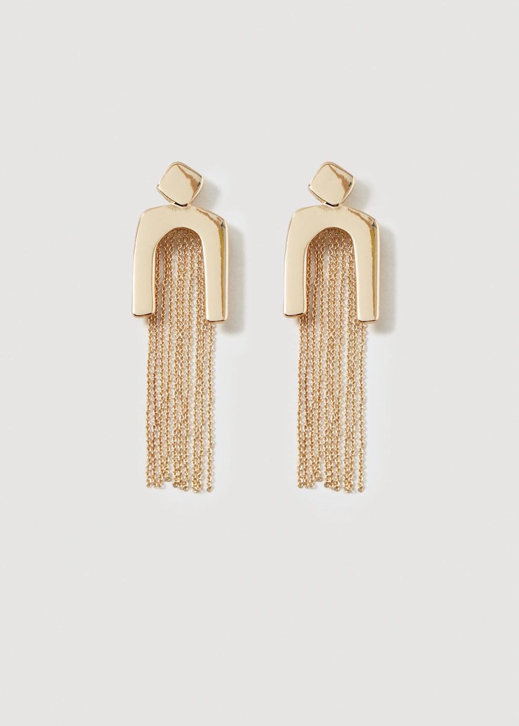 Mango Slim chain earring