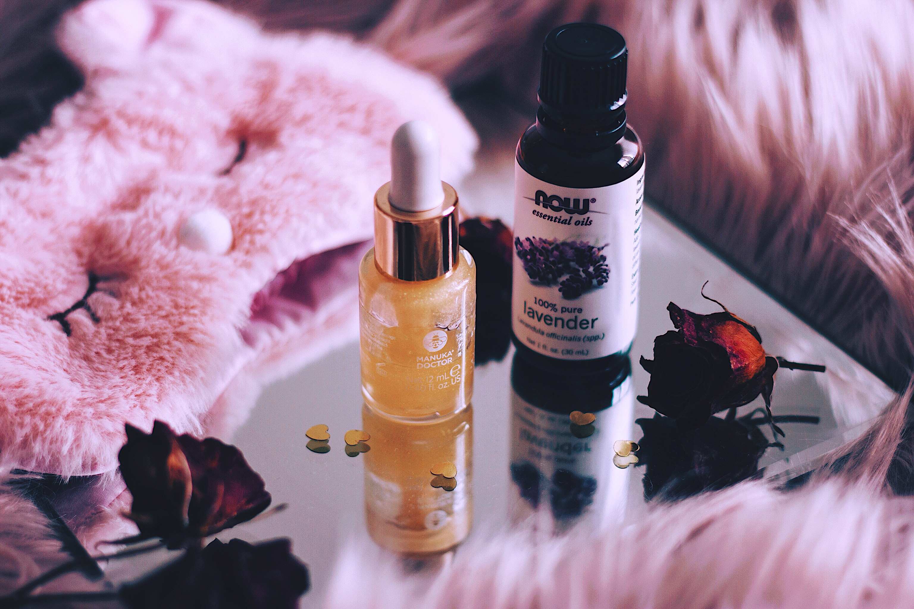 Nighttime routine Lavender Oil Style Unsettled