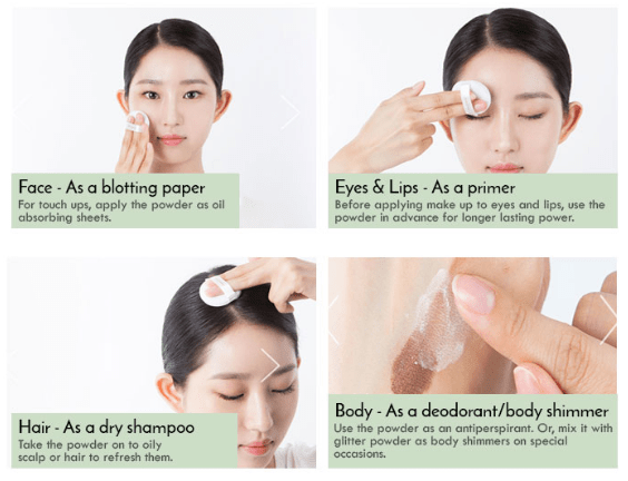 Innisfree No Sebum Mineral powder review - uses