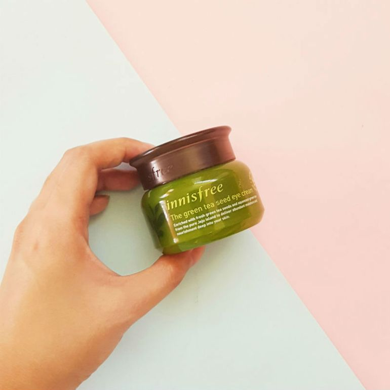 innisfree green tea seed eye cream review
