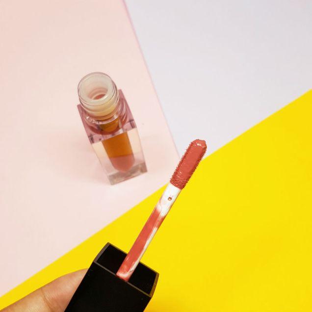 blk long-lasting liquid matte lipstick review - wand