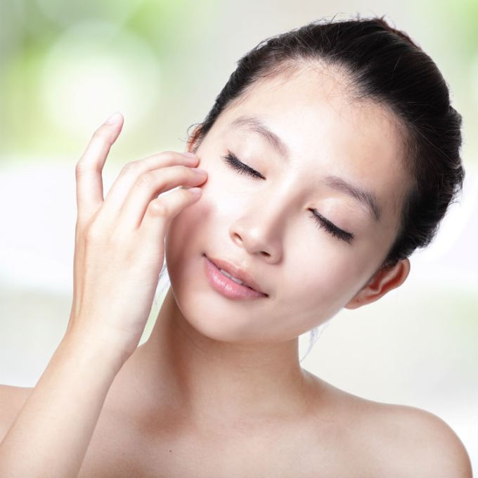 asian woman skincare beauty