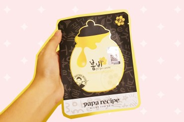 papa recipe bombee black honey mask pack review