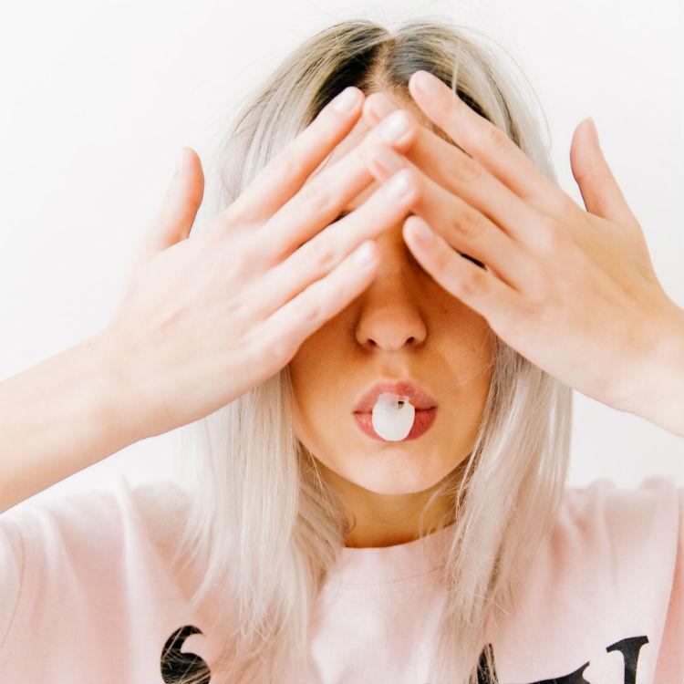 stress pink hair wellness
