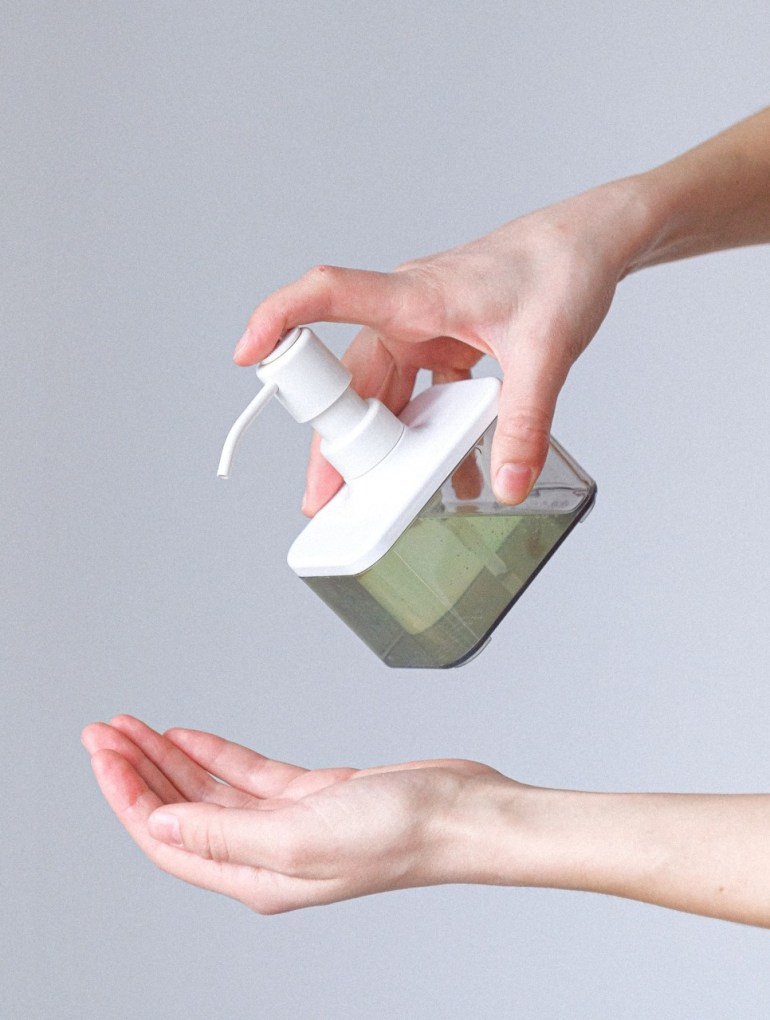 hand sanitizer health