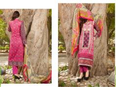 Semi Sitched Eid Lawn Dresses For Girls By Salitex 2015