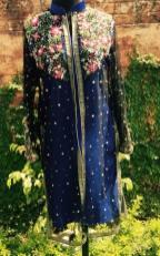 Autumn Wear Kurti By Syra Azadi For Girls 2015 3