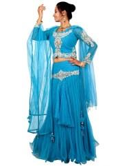 Bridal Party Lehenga Choli Dresses 2015 2