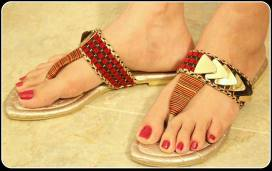 Casual Chappal Designs For Women By Triangle 2015 2
