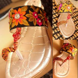 Casual Chappal Designs For Women By Triangle 2015 5