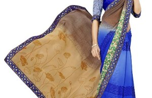Casual Wear Indian Saree Designs 2015
