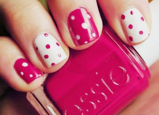 Pink Textured Nail Art Ideas To Match With Pink Dress