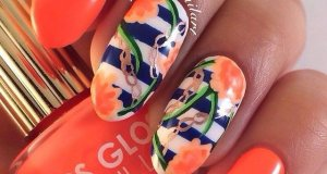 Prom Nail Art Designs For College Girls