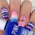 strip nail art