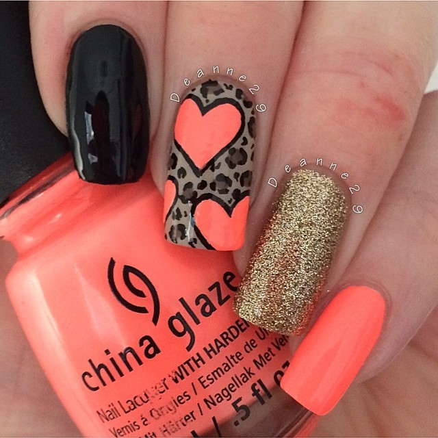 Prom nail art designs for college girls if you wish to look more glamorous and complicated try out some of the animal printed nail designse the complete gallery below and share these to your prinsesfo Images