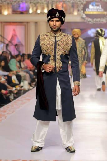 Traditional Style Groom & Bridal Wear By Arslan Iqbal 2015-16 10