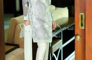 Autumn Formal Wear Dresses By Sana Salman 2015-16