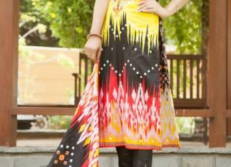 Autumn Shalwar Kameez Reshma Collection By VS Textiles 2015-16