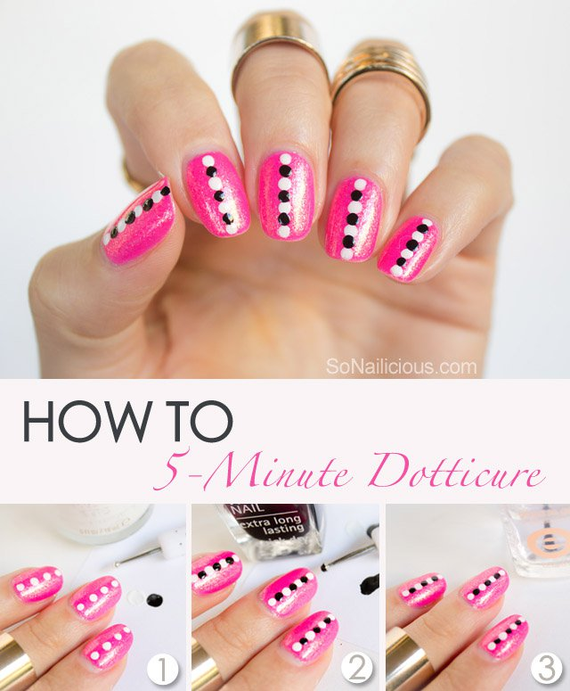 Colorful Nails Step By Step Nail Art Tutorial