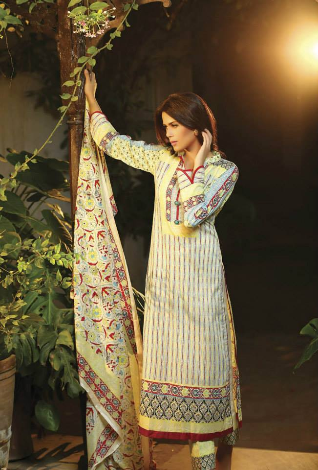 fall shalwar kameez by shairq