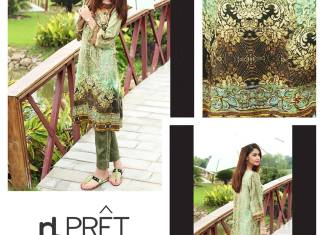 Eid Ul Azha Pret Collection By Nishat Linen 2015-16