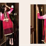 Embroidered Cambric Kurti By Firdous Fashion 2015-16