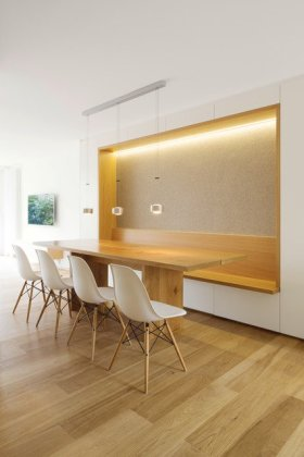 modern day dining room