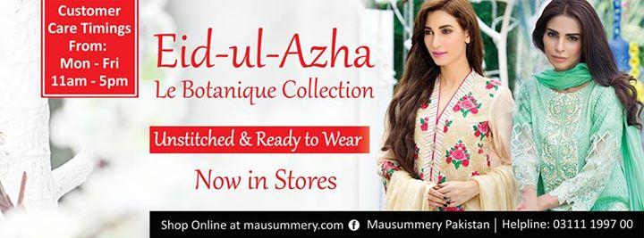Ready To Wear Eid Ul Azha Dresses By Mausummery 2015-16