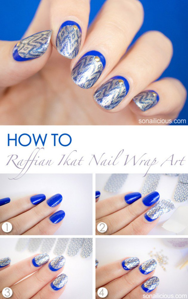 ruffian nail art