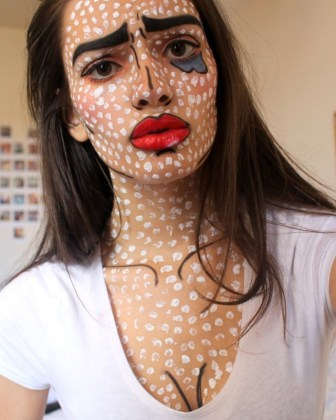 home halloween makeup
