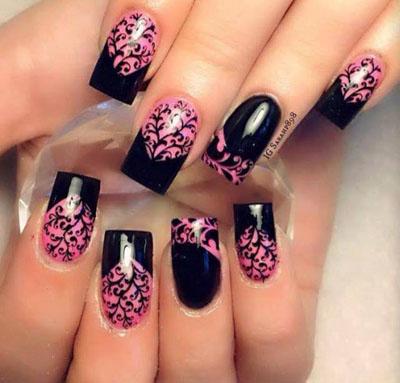 teen makeup nails