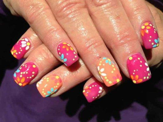 colorful nail ideas