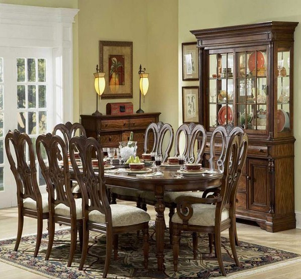 Vintage Style Dining Room Decor Ideas