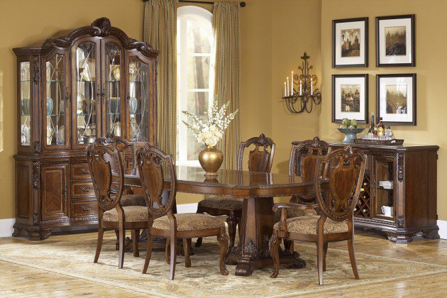 Vintage style dining room decor ideas for 420 room decor