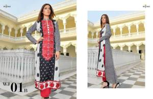 Wijdan Eid Ul Azha Dresses By Salam Textiles 2015-16