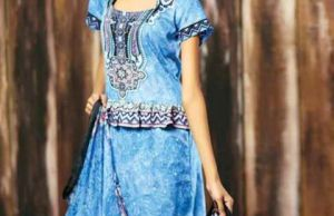 Crinkle Shalwar Kameez For Women By Shariq 2015-16