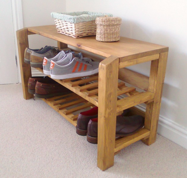 simple shoe rack for your home