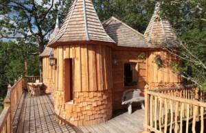 castle tree house