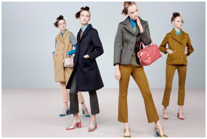 winter outfits by Prada